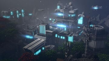 Sci-fi city Minecraft Map & Project