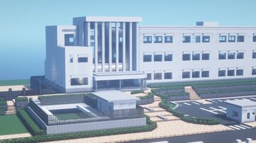 [1.12.2] Japanese HighSchool Recreation (SamGladiator's Yandere High School Map) Minecraft Map & Project