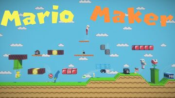 Mario Maker 2 Minecraft | Multiplayer up to 4 players | Submit Website | Version 1.16.3 Minecraft Map & Project