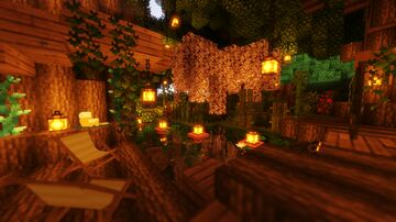 Witch's Treehouse Minecraft Map & Project