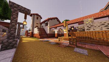 Pueblo mexicano/ mexican town Minecraft Map & Project