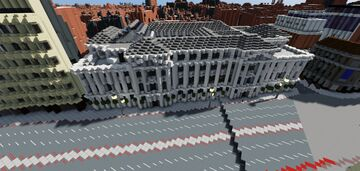 Camden Town Hall Minecraft Map & Project