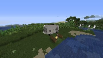 Camper Van Minecraft Map & Project