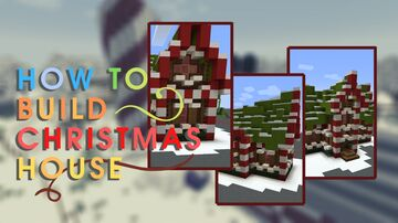 Christmas House Minecraft Map & Project