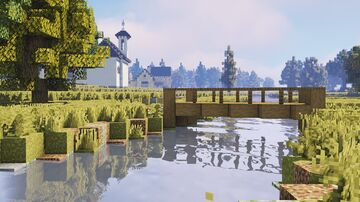 Mountain village (alps) Minecraft Map & Project
