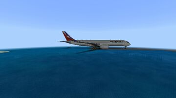 Airbus A350-9 Philippines Airlines build Minecraft Map & Project
