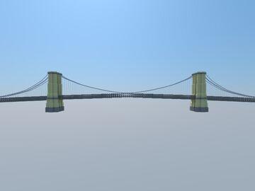 Brooklyn Bridge Minecraft Map & Project