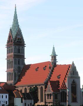 Marienkirche, Anklam, Germany Minecraft Map & Project