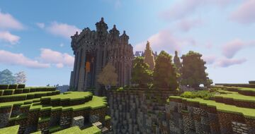 Fargard - World of Kingdoms - Minecraft Medieval project - Part 2 Minecraft Map & Project