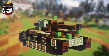 AMX-13 Avec Tourelle FL-11 (2:1 Scale) Minecraft Map & Project