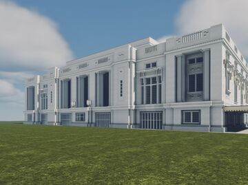 Dallas Union Station Minecraft Map & Project