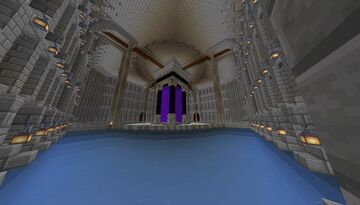 Nether Hub Minecraft Map & Project