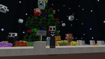 Nightmare Before Christmas mini-diorama Minecraft Map & Project