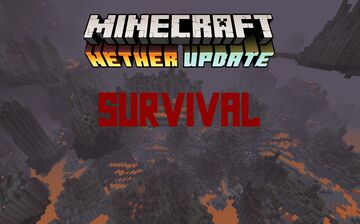 master_builder75's nether survival challenge Minecraft Map & Project