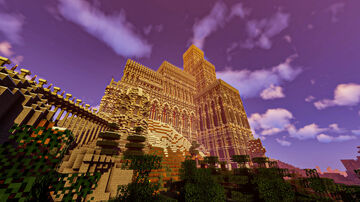 EAST KINGDOM - GREAT CASTLE Minecraft Map & Project