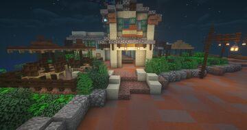 River View Cafe [Hong Kong Disneyland] Minecraft Map & Project