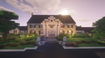 Elvis Presley's Graceland in Minecraft Minecraft Map & Project