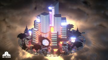Science Fiction Hub Minecraft Map & Project