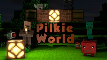 Pilkie World | 1-4 Players | Adventure Runs Minecraft Map & Project