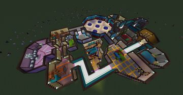 Among Us map! by: Smiley Director Minecraft Map & Project