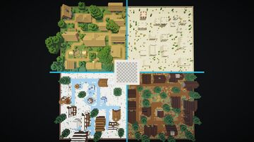 Find The Button, Village 1.15.2 Minecraft Map & Project