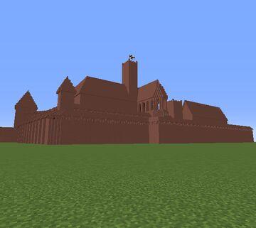 Ordensfestung Marienburg (Malbork) Minecraft Map & Project