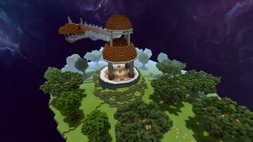[DOWNLOAD] Orange Dragon Sky Island Minecraft Map & Project