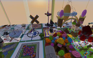 Vivacity Vibrant Build Contest Minecraft Map & Project