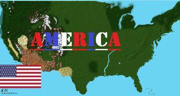 American World Java/Bedrock Minecraft Map & Project