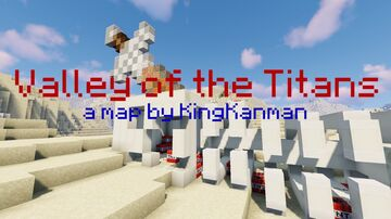 Valley of the Titans Minecraft Map & Project