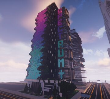 |MFC| SPECTRUM - SKYSCRAPER - WITH OFFICES - 20 Floors Minecraft Map & Project