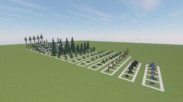 Nostrix's Vanilla Tree Repository Minecraft Map & Project