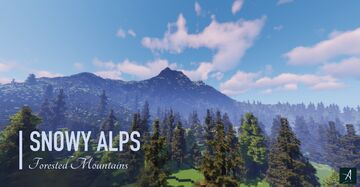 Snowy Alps Minecraft Map & Project