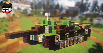 Ikv-72 (2:1 scale) Minecraft Map & Project