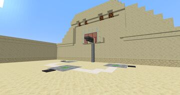 Singleplayer Basketball Minecraft Map & Project