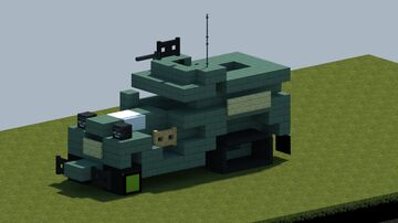 US M3A1 Halftrack [With Download] Minecraft Map & Project