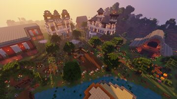 Dasmariñas Village Minecraft Map & Project