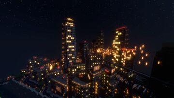 CyberPunk city Minecraft Map & Project
