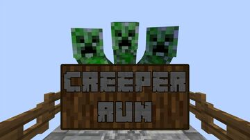 Creeper Run | Minigame Map Minecraft Map & Project