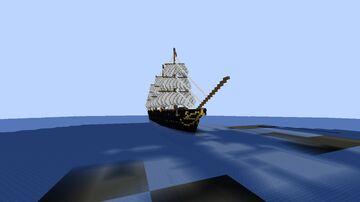 RMS Casnewydd 1862: custom ocean liner Minecraft Map & Project