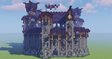Elven fortress Minecraft Map & Project