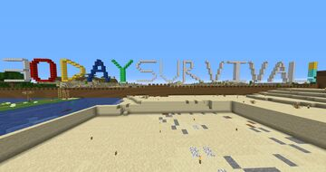 30 Day Survival Minecraft Map & Project