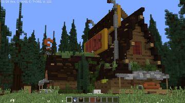 Gravity falls  Mystery-Shack Minecraft Map & Project