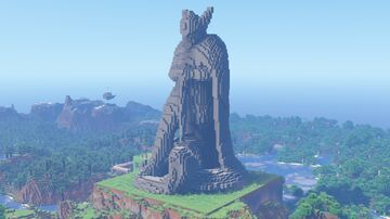 Talos Statue - Built in Survival Minecraft Map & Project