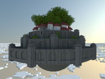 Laputa - Castle in the Sky Minecraft Map & Project