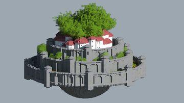 Laputa - Castle in the Sky Minecraft Map & Project