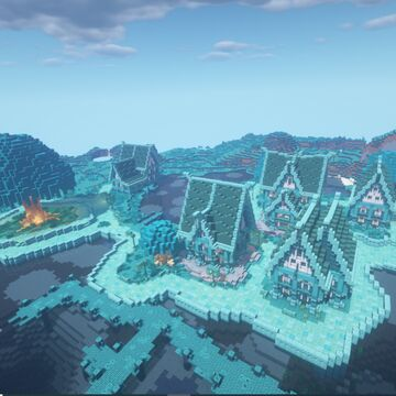 Blue Valley (Cidade Medieval) | (Medieval City) Minecraft Map & Project