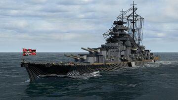 Updated DKM Bismarck (4:1 scale) Minecraft Map & Project