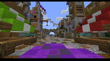 Spawn for survival: Seaport town Minecraft Map & Project