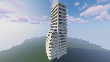 Skyscraper [DOWNLOAD + SCHEMATIC] Minecraft Map & Project